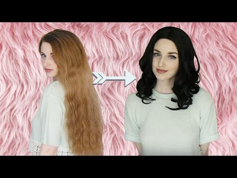 How to get Long Thick Hair Under a Wig