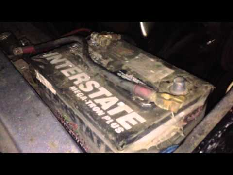How to install a car battery | Old ford truck