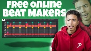 Making Heat With Free Online Beat Makers !! (Testing Free Online Beat Makers) | Sharpe