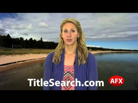 Property title records in Alcona County Michigan   AFX