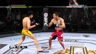 EA Sport UFC  Bruce lee  Gameplay ps4