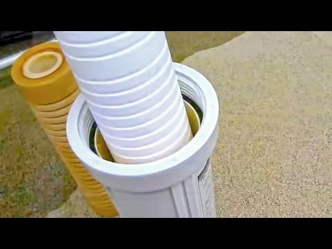 HOW TO: Replace RV Water Filters