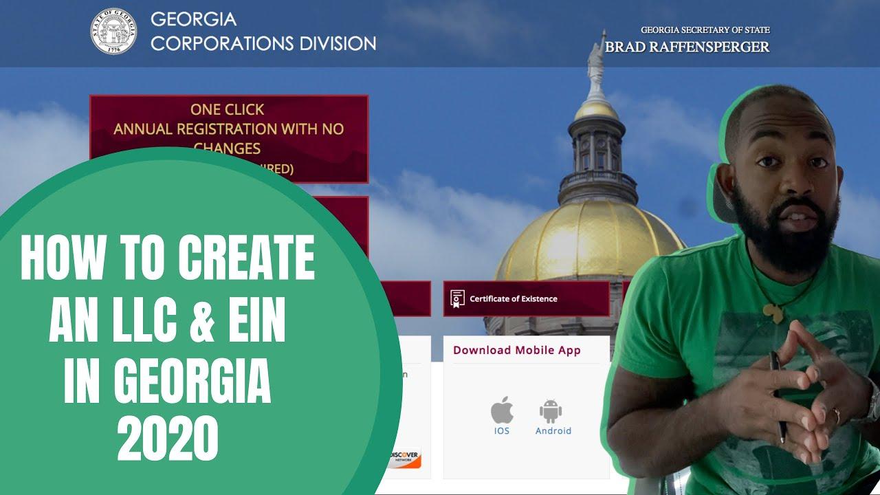 How to Create An LLC & EIN in Georgia 2021