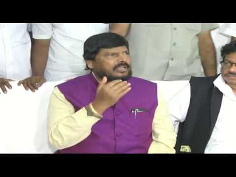 Union Minister Ramdas Bandu Athawale :50,000 crore earmarked for SC, ST welfare