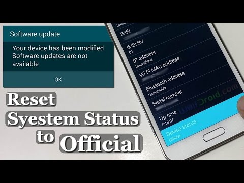 How to Reset System Status to Official for Galaxy S5, S4, S3 & Note [Wanam Xposed]