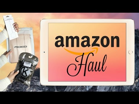 Amazon Haul // IPad and IPhone accessories + review