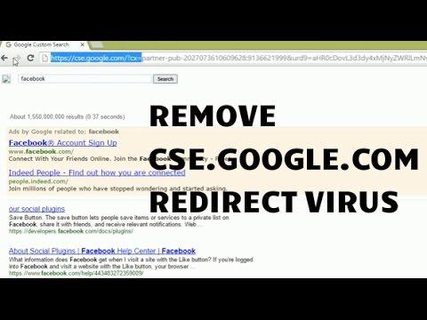 Remove cse.google.com Google Custom Search Redirects
