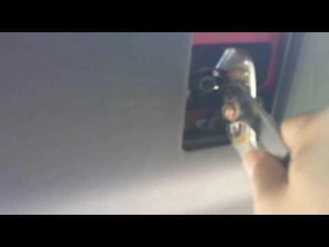 2010 Toyota Prius License Plate Light Bulb Change