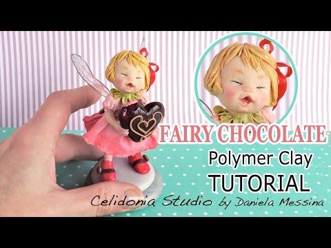 Fairy Polymer Clay Tutorial - Eating Chocolate
