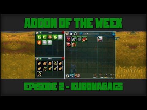 Wildstar Addon Of The Week - Episode 2 - KuronaBags