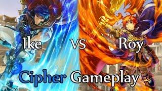 Fire Emblem 0 Cipher Gameplay: Eirika vs Lyon