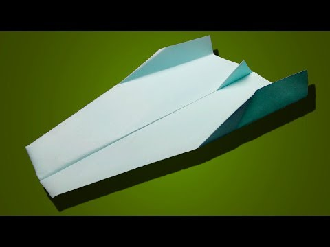 How to make a paper plane that flies 10000 feet