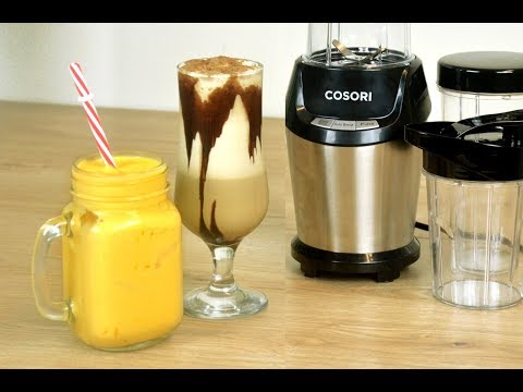 COLD COFFEE AND MANGO LASSI with COSORI | Summer Drinks Recipe