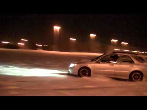 Saab 9-2X Snow Fun