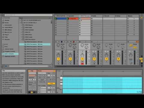 TUTORIAL ABLETON LIVE 9 - TECHNO GROOVE