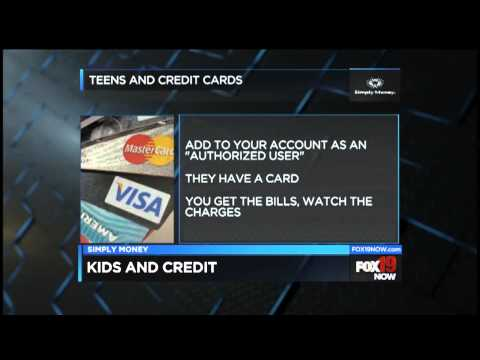 Simply Money: Should your teen get a credit card?