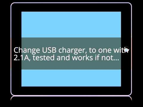 Easy : Ipad turns on and off in a loop during charging Solution