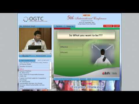 Bechmarking for Cost Reduction  - Mr Abhishek Singh