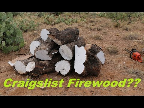 Cutting and Transporting 2500lb+ of Mesquite Trunk/Logs