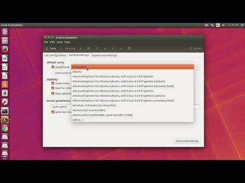 How To Install Grub Customizer on Ubuntu 16.04 | 17.10