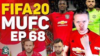 FIFA 20 MANCHESTER UNITED CAREER MODE! GOLDBRIDGE Episode 68