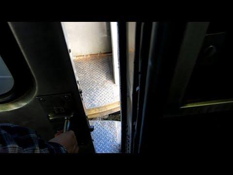 Inside R44 NYC ex-subway car, SIR