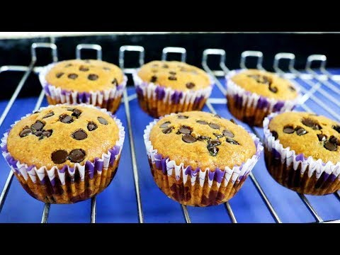 Healthy Chocolate Chip Muffins | Kitchen Time with Neha