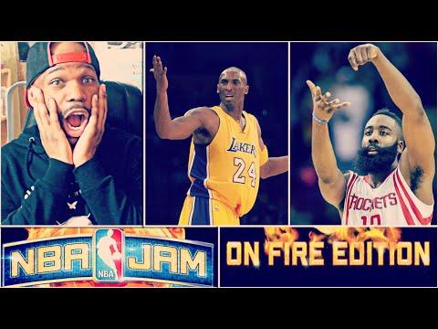 Kobe Shoots Air Balls! NBA Jam on Fire Edition! #3 - James Harden Cooking | xChaseMoney