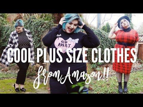 AMAZON HAUL | Finding Cool Plus Size Clothes on Amazon
