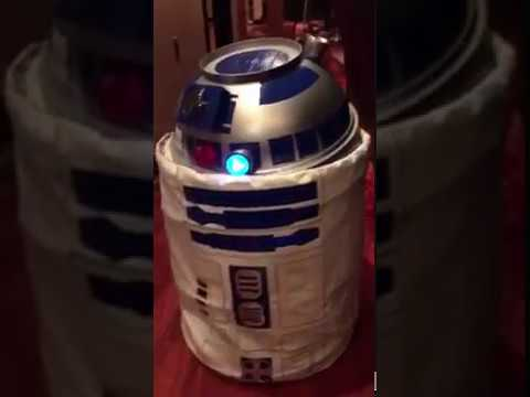 R2-D2 DIY Super Cool Costume