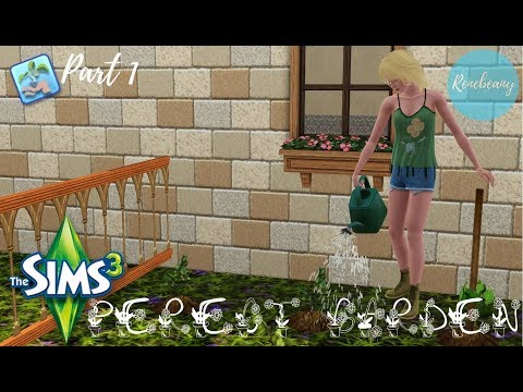 The Sims 3: Quest for the Perfect Garden Part 1