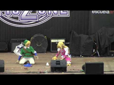 Ficzone 2014 - concurso cosplay - Zelda skyward sword