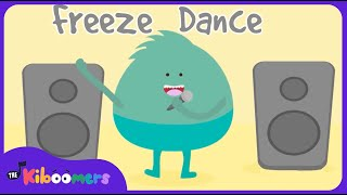 Freeze Dance | Freeze Song | Freeze Dance for Kids | Music for Kids | The Kiboomers