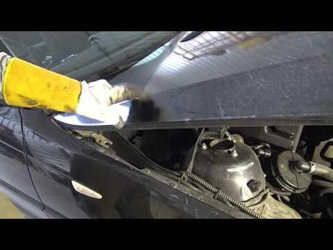 How to replace BMW 3 series bonnet or hood E46 E90 F30  Years 2000 to 2018