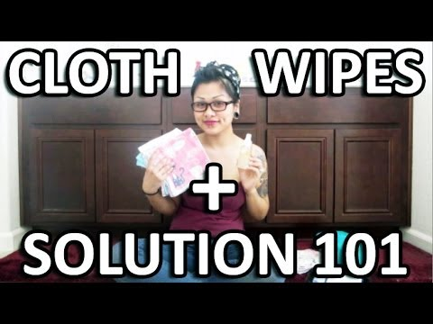 Cloth Wipes + Solution 101
