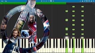 Download Avengers Endgame Trailer 2 - EASY Piano Tutorial Video