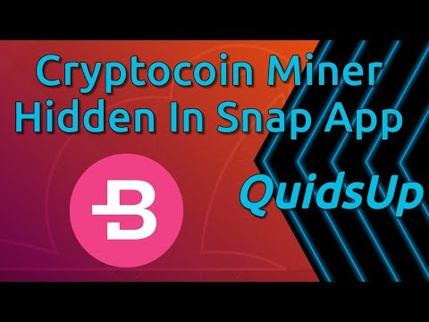 Linux Security News - Cryptocoin Miner Hidden In Ubuntu Snap Store