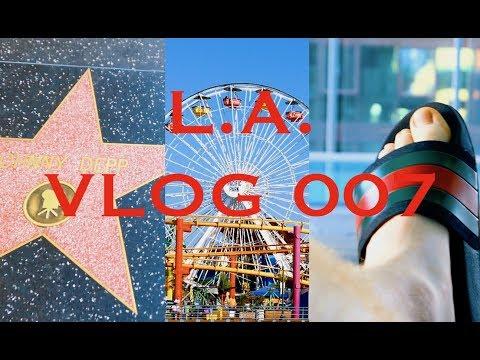 Los Angeles 3 - VLOG 007 (Malibu Beach House, Santa Monica Pier & Walk Of Fame)