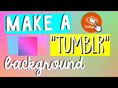 How To Make Your Own Tumblr Backgrounds! xxEHxx