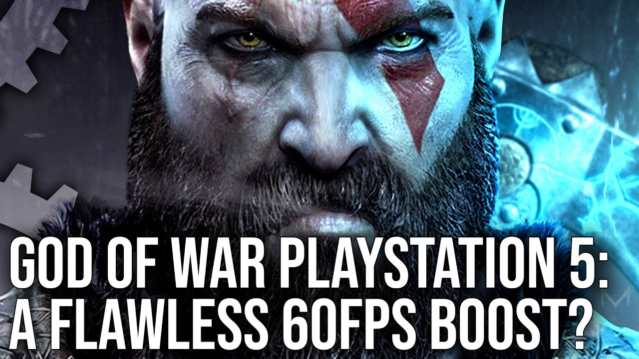 God of War on PS5 - A Flawless 60fps Upgrade? Patch 1.35 Deep Dive!