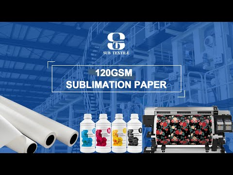 120gsm sublimation paper printing and transfering