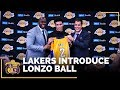 Lonzo Balls Lakers Introductory Press Conference in Full