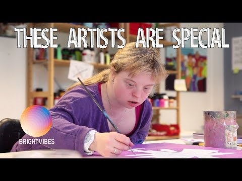 """Here, artists with a """"disability"""" create and sell beautiful works"""