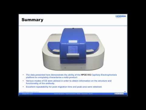 HORIBA Webinar - Improve Your Monoclonal Antibodies Analysis