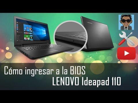 Cómo ingresar a la BIOS Lenovo Ideapad 110 para FORMATEAR |Dos Métodos| [Fácil & Rápido]