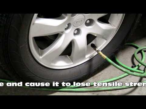 Benefits of Nitrogen filled tires