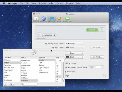 Increase the Font Size of Your iMessages in Mac OS X Mountain Lion