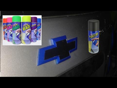How to Plasti Dip Emblem 101 (2 Tone)