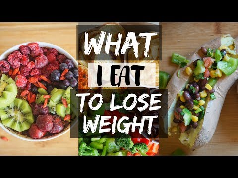 WHAT I EAT IN A DAY TO LOSE WEIGHT// VEGAN