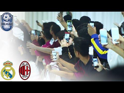 Real Madrid arrive in Dubai - #DubaiFC   Dubai Football Challenge